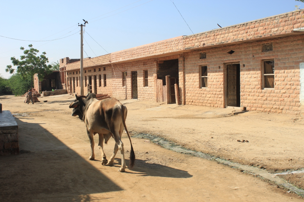 ... Indira Ghandi was determined to do something for the Dhalits and so began a programme of building secure houses ...
