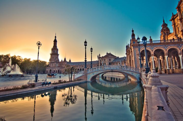 Seville ... I might have to have a few cervecas ...