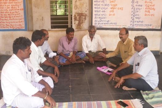 Saravan and the teachers
