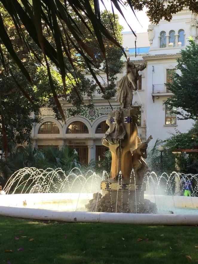 Alicante fountain
