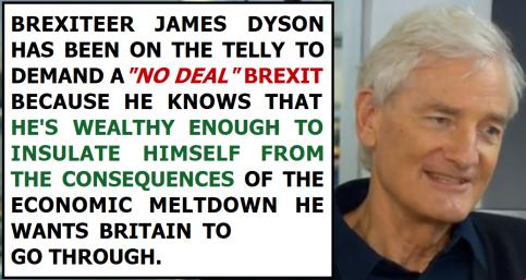 James Dyson No Deal Brexit
