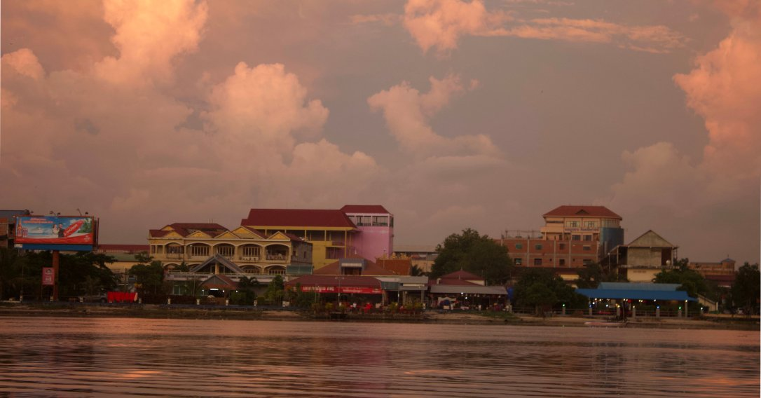 Kampot before the storm